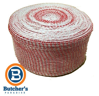 Trunet Meat Netting 180/48 Roast Red/white Super Plus 11330 - 5M