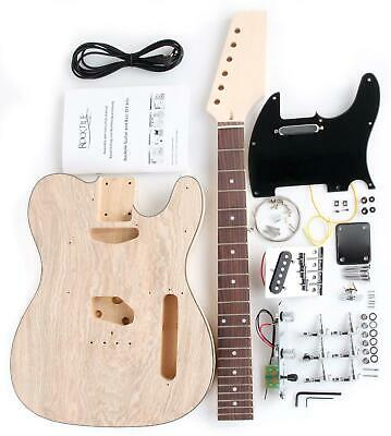 Do It Yourself Electric Guitar Assembly Kit Home Made Diy Complete Set Hand Made