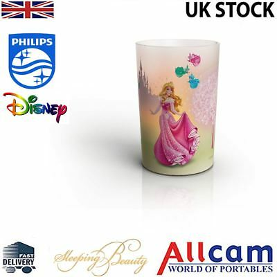 Philips Disney Princess LED Candle Lamp Children's Night Light Sleeping Beauty