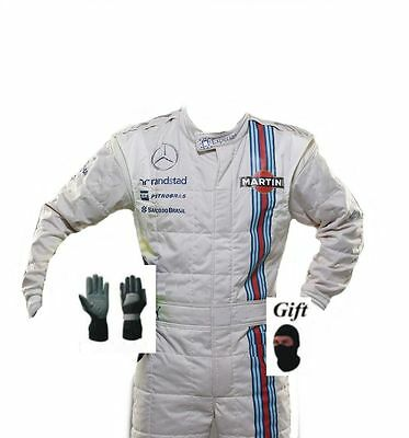 Go kart hobby race suit martini style 2015 (free gifts)