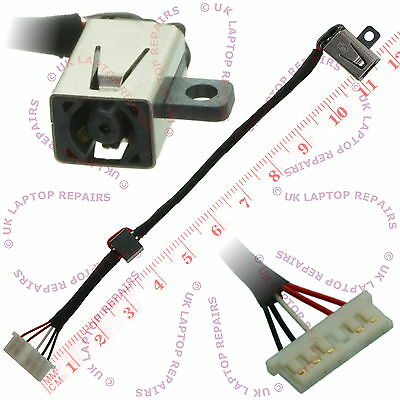 Dell Inspiron DC30100UD00 DC Jack Power Socket Cable Connector 0KD4T9 KD4T9