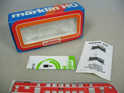 R747-0,5# Märklin/Marklin H0 Empty box Diesel locomotive 3142 FS + Manual vg