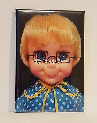"MRS. BEASLEY DOLL VINTAGE 2"" x 3"" Fridge MAGNET FAMILY AFFAIR"