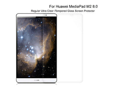 Regular Ultra Clear/Tempered Glass Screen Protector For Huawei MediaPad M2 8.0