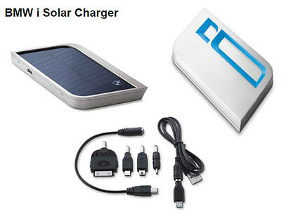 Genuine BMW i Solar USB Charger for iPhone iPod iPad mobile phone original