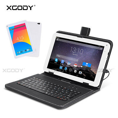 XGODY 9 inch 32GB Android 4.4 Quad Core WIFI Tablet PC Bundle Free Keyboard Case