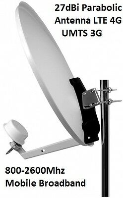 Mobile Broadband Antenna Huawei Aerial Booster 3G UMTS LTE Parabolic CRC9
