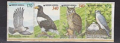 South Korea  1999  S G 2326 - 2329  Protection Of Wildlife  2    M / N / H