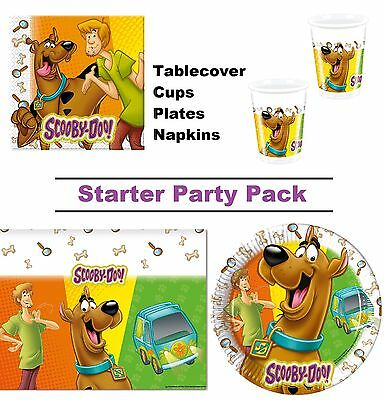 Scooby Doo | Fred 8-48 Guest Starter Party Pack - Cups, Plates, Napkins