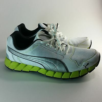 ba444d1677822b PUMA WOMEN S 8.5 White   Silver Running Shoes NWT -  18.40