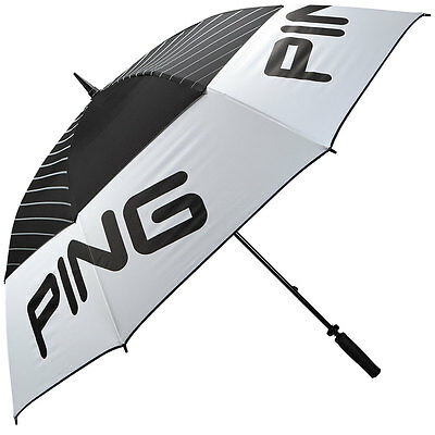 Ping 'Tour' 68'' Golf Umbrella - Black/White