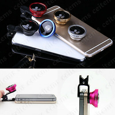 Universal 0.4X Super Wide Angle Selfie Camera Lens for CellPhone iPhone  Samsung