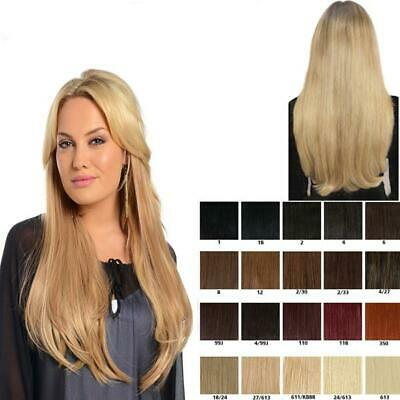 Koko Thick 180g one piece Weft Straight clip in Hair Extensions Various Colours