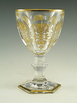 BACCARAT Crystal - EMPIRE Design - Claret Wine Glass / Glasses - 5 3/8""