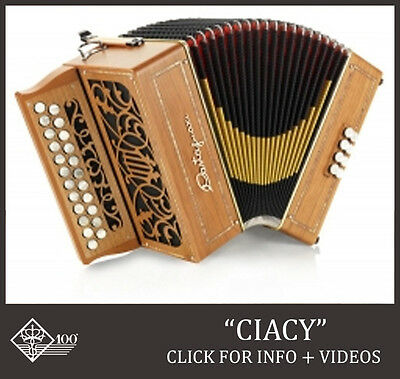 New Castagnari, Ciacy  Flat Fingerboard Button Accordion