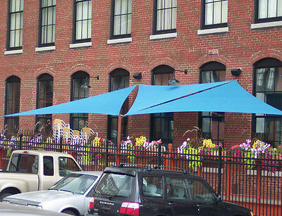 12' Right Triangle Shade Sail Made in USA  Multiple Colors Available NO SEAMS