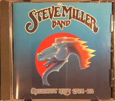 The Steve Miller Band - Greatest Hits 1974-78, CD 1978 Good Condition