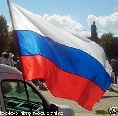 """New Flag of the Russian federation tricolor Country Banner 90x132cm ~35.5 x 52"""""""