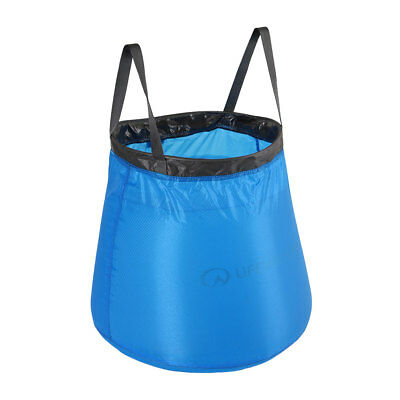 Lifeventure Lightweight Collapsible 15 Litre Camping Bucket - Pocket Pack Size