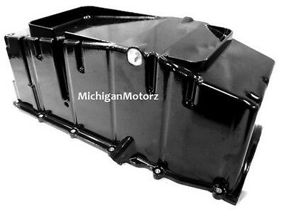 MerCruiser 8.1L (496 ci) Marine Oil Pan w/ Baffle, NEW - 3861304, 881653