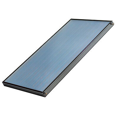2 (SRCC-OG100) Dimplex Solar thermal Flat Glazed Collectors &Fittings