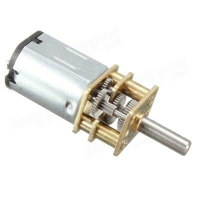 N20 DC12V 300RPM Mini Metal Gear Motor Electric Gear Box Motor. UK SELLER