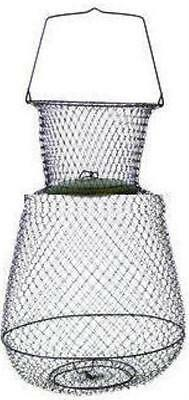 "Eagle Claw 11051-002 Jumbo Collapsible Wire Basket 19"" x 30"" 17385"