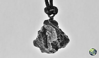 METEORITE CAMPO DEL CIELO - NECKLACE WITH PENDANT / COLLANA CON CIONDOLO, 5.7 g