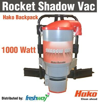 Hako Shadow Vac BackPack Vacuum 1000W ByPass Motor Commercial Vacuum