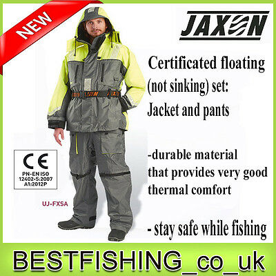 Jaxon floating set - jacket and pants, durable and certyficated, schwimmanzüg