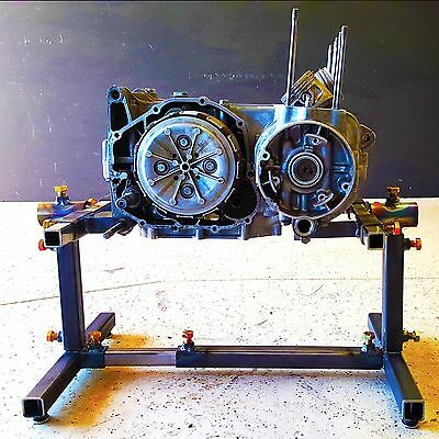 Father Moto Motorcycle Engine Stand - Metric
