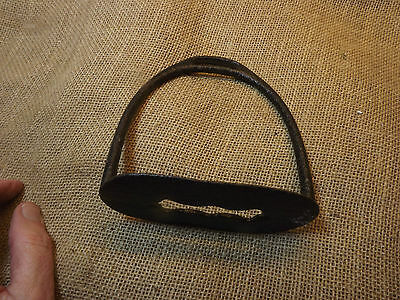 Antique Iron Horse Riding Stirrup South American Hispanic Genuine Old Item