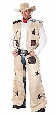 Halloween Lifesize WILD WEST COWBOY ADULT MEN Costume Haunted House