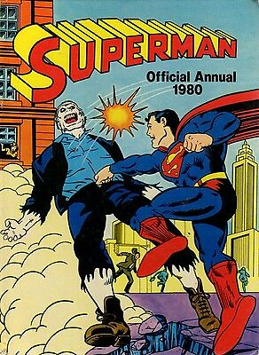 Superman Annual 1980 Book very good condition Official