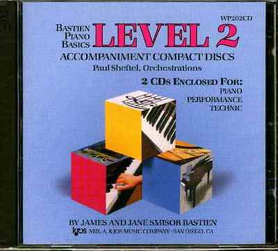 Bastien Piano Basics Level 2 (2Cd)
