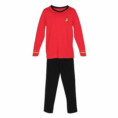 Star Trek Adult Officer Pajamas - Red Scotty Security