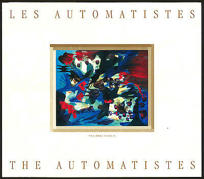 Canada  #BK 209   45c Automatistes Booklet pane of 7