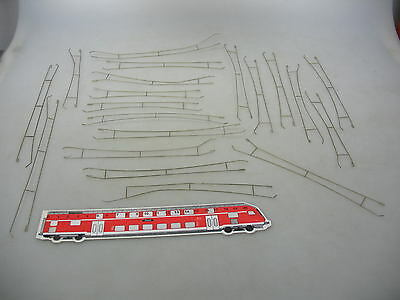 AF568-0,5# 20x SGB/VEB/DDR H0 Catenary wire sections f Catenary/Overhead line,