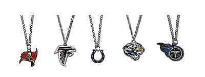 NFL Necklace & Logo Pendant Various Teams Pick Your Team NEW