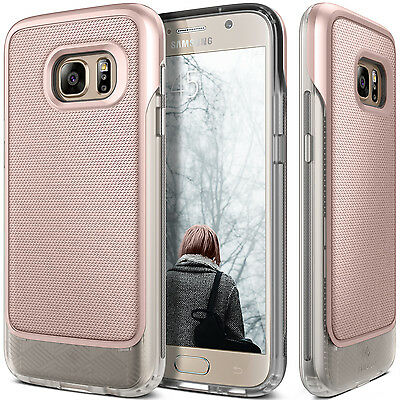 Caseology® [VAULT] Rugged Armor Grip Case Cover For Samsung Galaxy S7