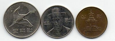Korea Circulated Coins