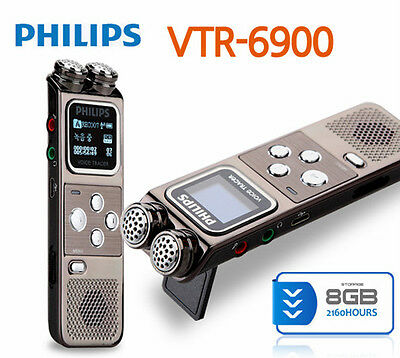 Philips Wireless Voice Tracer Recorder VTR 6900 PCM FM-Radio Tapping Wiretap Bug