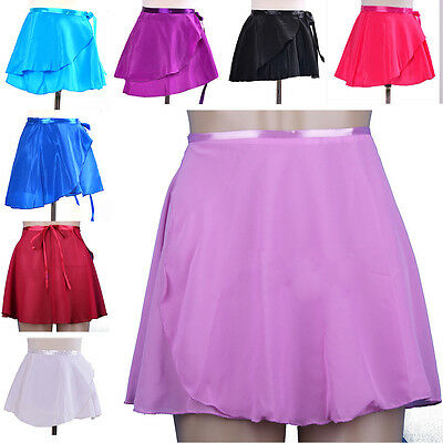 YEAH Adult Girl Women Chiffon Ballet Tutu Dance Skirt Skate Wrap Skirt New Hot