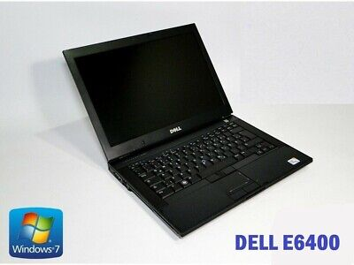 Fast Dell Latitude e6400 Intel Core 2 Duo 4 GB Ram 120 GB HDD Windows 7 WIFI