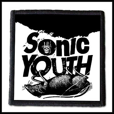 SONIC YOUTH --- Patch /Pixies Mudhoney Nirvana Cannonball Television Patti Smith