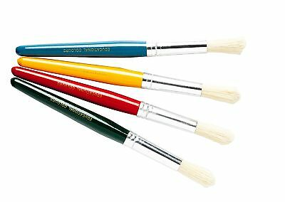 Jumbo Stubby Brush - Kids Paint Brush Set of 4 brushes