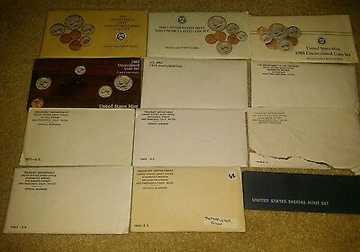 U.S. Mint Uncirculated Set. 12 Lot