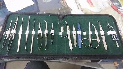 Basic Opthalmic surgical Instrument cataract set of 16 pcs