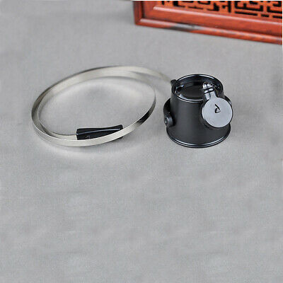 Headband 15X LED Head Lamp Light Jeweler Magnifier Magnifying Glass Loupe Hot