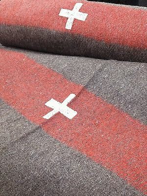 Swiss Army Military Reproduction Wool Blanket 60 x 84 - new